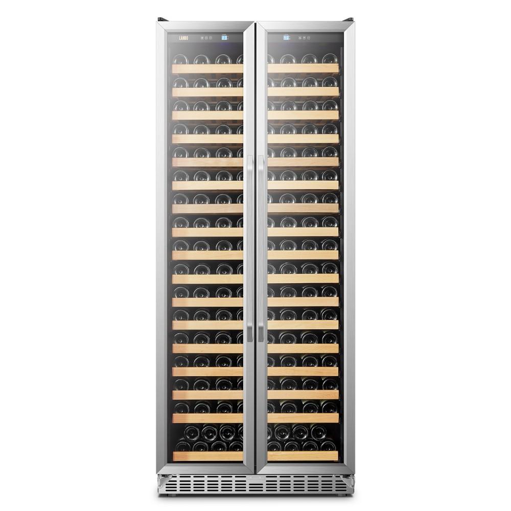 Lanbo Luxury 289 Bottles Dual Door Wine Cooler - LW328SD