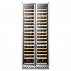 Lanbo Luxury 289 Bottles Dual Door Wine Cooler - LW328SD