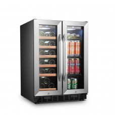 Lanbo 24 Inch Wine and Beverage Cooler - LB36BD