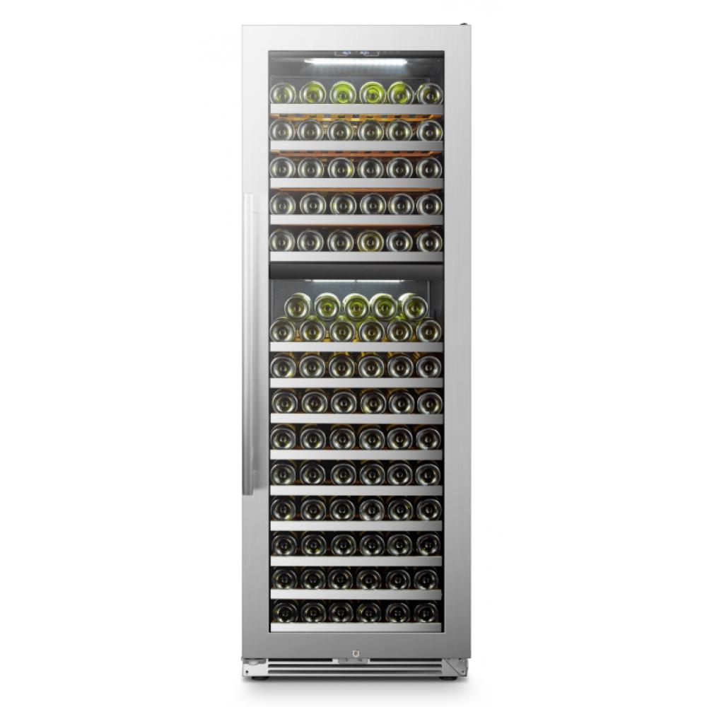 Lanbopro 153 Bottle Dual Zone Wine Cooler - LP168D