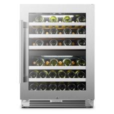 Lanbopro 44 bottle Dual Zone Wine Cooler - LP54D