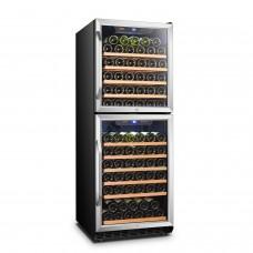 Lanbo 133 Bottle Dual Door Wine Cooler - LW133DD