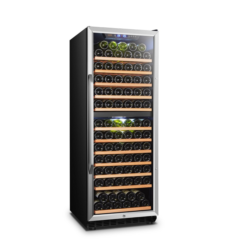 Lanbo 138 Bottle Dual Zone Wine Cooler - LW142D