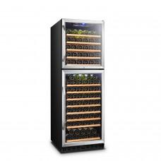 Lanbo 162 Bottle Dual Door Wine Cooler - LW162DD