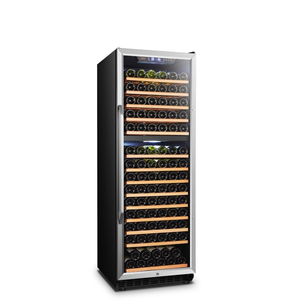 Lanbo 160 Bottle Dual Zone Wine Cooler - LW165D
