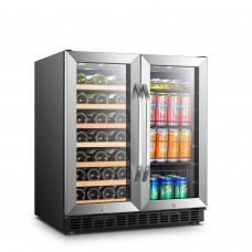 Lanbo 30 Inch Wine and Beverage Cooler - LW3370B