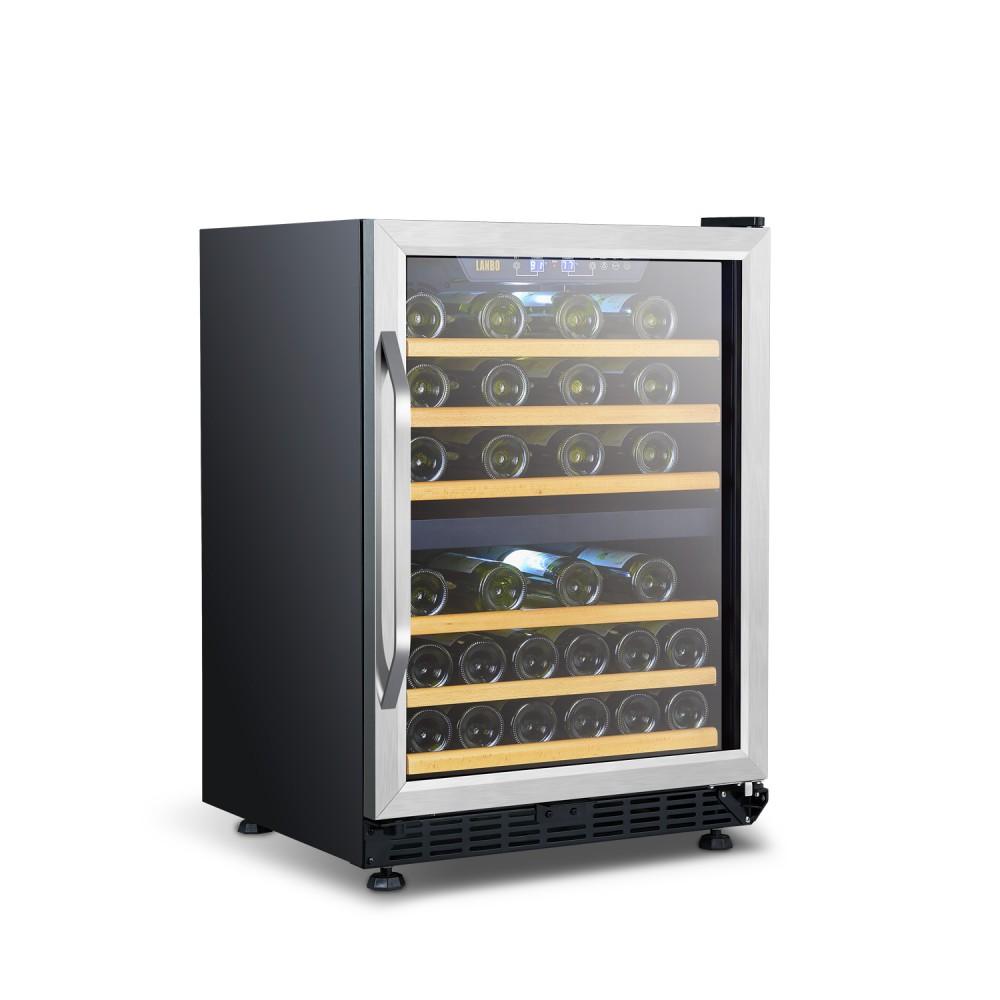 Lanbo 46 Bottle Dual Zone Wine Cooler - LW46D