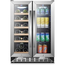 Sinoartizan 24 Inch Wine and Beverage Cooler ST-36B