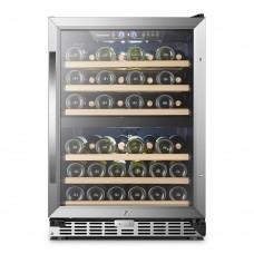 Sinoartizan 44 Bottle Dual Zone Wine Cooler ST-54D
