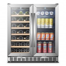 Sinoartizan 30 Inch Wine and Beverage Cooler ST-66B