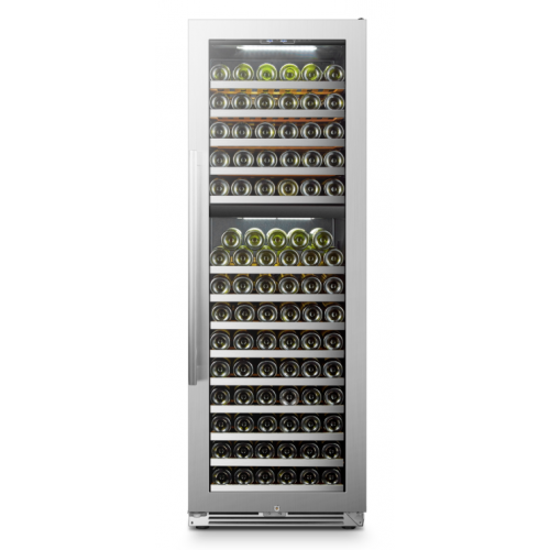 Lanbopro 153 Bottle Dual Zone Wine Cooler