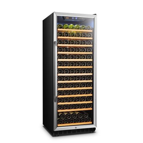 Lanbo 24 Inch 149 Bottle Single Zone Wine Cooler