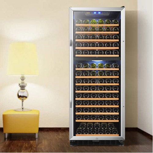 Sleek Design and State of the Art Cooling Technology for LW165D Wine Cooler