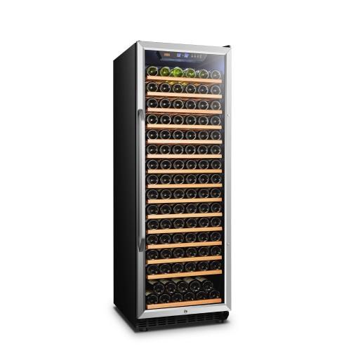Lanbo 24 Inch 171 Bottle Single Zone Wine Cooler